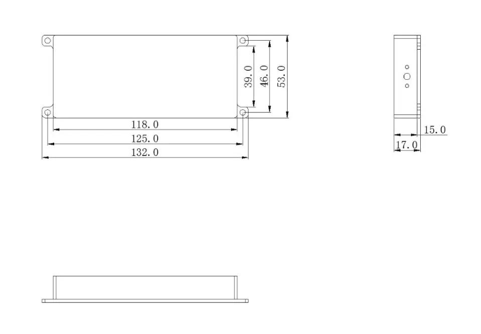 5.8G无人机反制设备功放模组-20W干rao屏bi模块